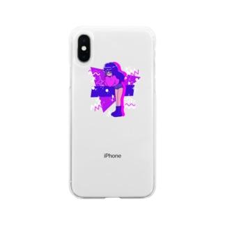 もえそで Soft clear smartphone cases