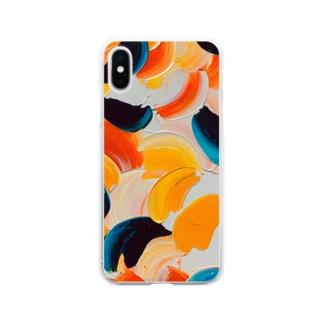 スクリュードライバー Soft clear smartphone cases