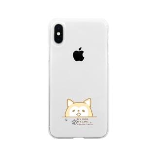 あたちたちのおみせのあたちたちのぼくおか Soft clear smartphone cases