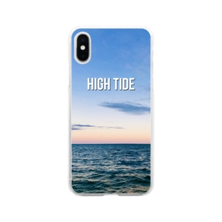 のゆきのHIGH TIDE Soft clear smartphone cases