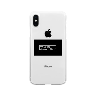 Fallen-Angel_R-Kロゴグッズ Soft Clear Smartphone Case