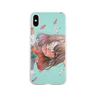 不健康優良児 Soft clear smartphone cases