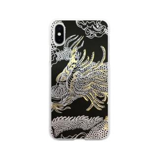 龍神 Soft clear smartphone cases