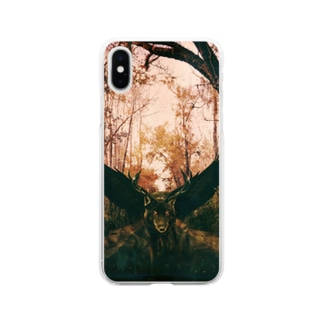 合成獣 Soft clear smartphone cases