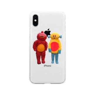 ちょぼぽげ Soft clear smartphone cases