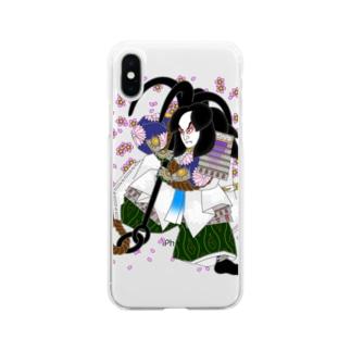 碇知盛 Soft clear smartphone cases