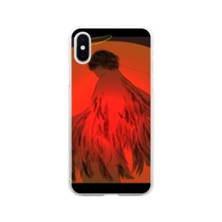 変身 Soft clear smartphone cases