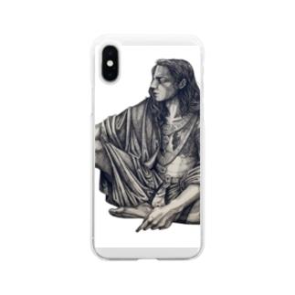 那羅延天 Soft clear smartphone cases