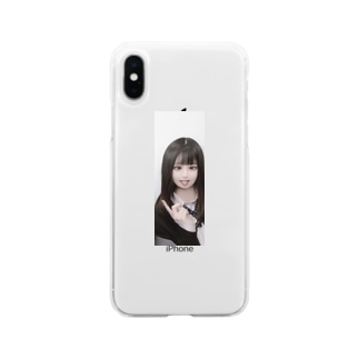 匂わせiPhoneケース Soft clear smartphone cases