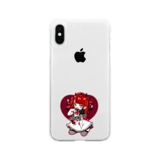 にあさんスマホケース Soft clear smartphone cases