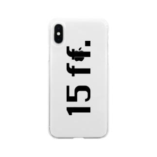 15ffスマホケース Soft clear smartphone cases