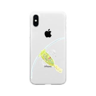 カイアシ Soft clear smartphone cases