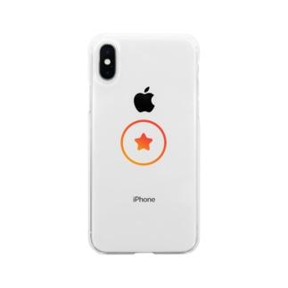 ナレッジスター公式グッズ(ロゴ大) Soft clear smartphone cases