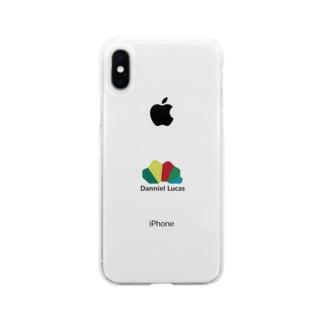ダニエルルーカスロゴ Soft clear smartphone cases