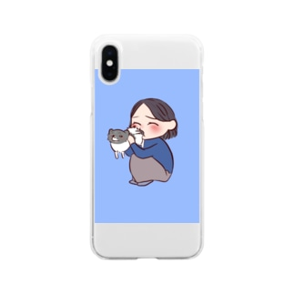 2号とオレオ Soft clear smartphone cases