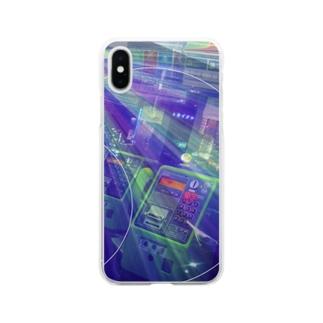 無限電話BOX Soft clear smartphone cases