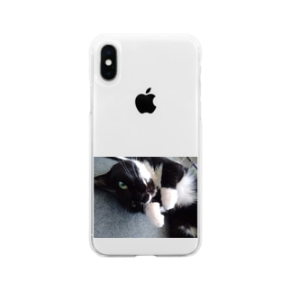 美桜 Soft clear smartphone cases