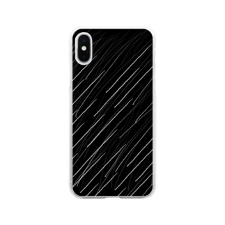 五月雨 Soft clear smartphone cases