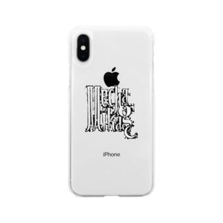 メカミカゲよ! Soft clear smartphone cases