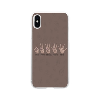1.2.3.4.5! Soft clear smartphone cases