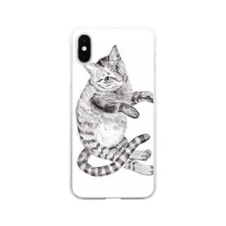 ぺこ太郎 Soft clear smartphone cases