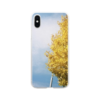 ka_nonのあおときいろ Soft clear smartphone cases