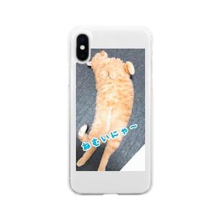 ちゃとららぶシリーズ Soft clear smartphone cases