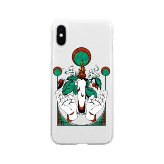 蝋燭2 Soft clear smartphone cases
