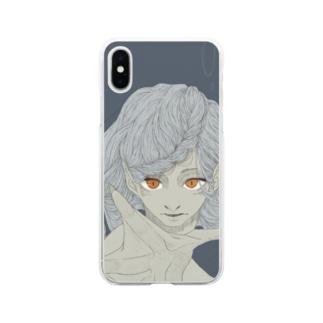 人魚 Soft clear smartphone cases
