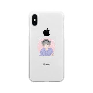 遥瑠のあいこん Soft clear smartphone cases