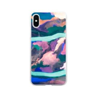 過去作② Soft clear smartphone cases