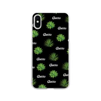 アガベ Soft clear smartphone cases