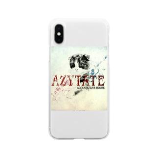 東梅田AZYTATE Soft clear smartphone cases