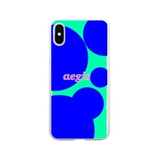 イージス Soft clear smartphone cases