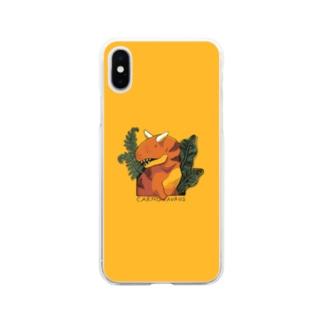 カルノスマホ Soft clear smartphone cases