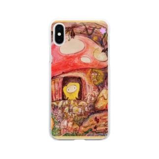 モンパルロ・Montparlo Soft clear smartphone cases