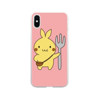 ぷに太スマホケース Soft clear smartphone cases