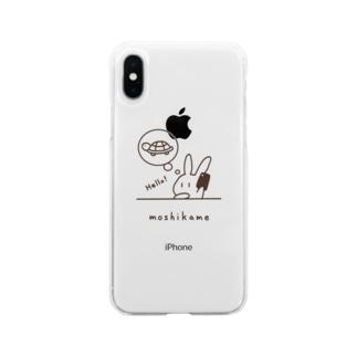 もしもしかめさん[moshikame] Soft clear smartphone cases