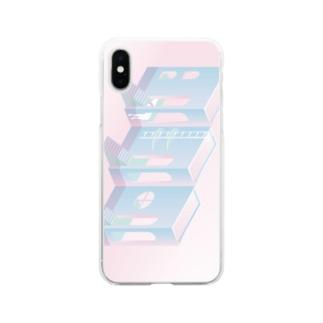 バカンス Soft clear smartphone cases