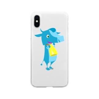 ジョン・アンドー Soft clear smartphone cases