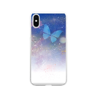 宇宙 Soft clear smartphone cases