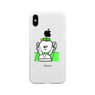 はんぺんぺちぺち Soft clear smartphone cases