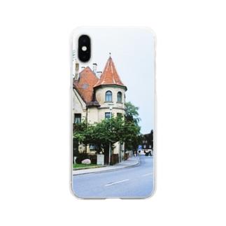 ドイツ:フュッセンの風景写真 Germany: view of Füssen Soft clear smartphone cases