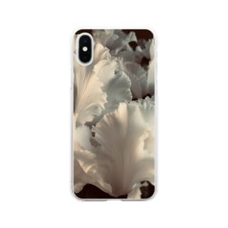 シクラメン Soft clear smartphone cases
