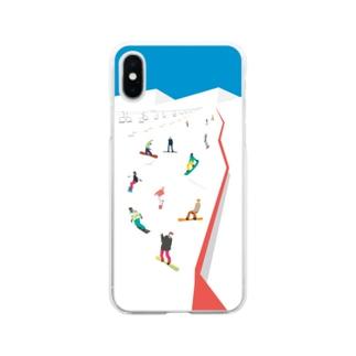Skigelande  Soft Clear Smartphone Case