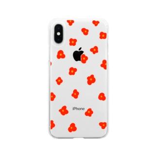 ハナ・アカ Soft clear smartphone cases
