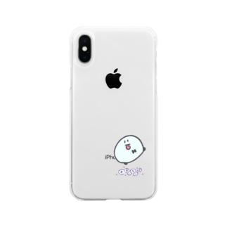 まるいなにか Soft clear smartphone cases