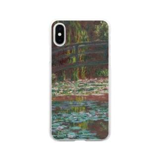 クロード・モネ 「睡蓮の池」 印象派 絵画プリント Soft clear smartphone cases