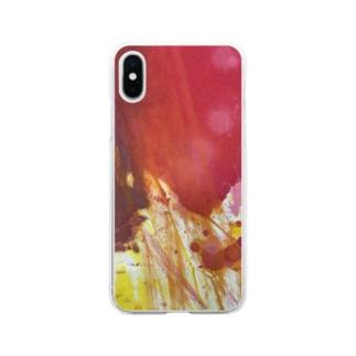 fureai/kakizome1 Soft clear smartphone cases