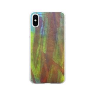 fureai/kakizome2 Soft clear smartphone cases